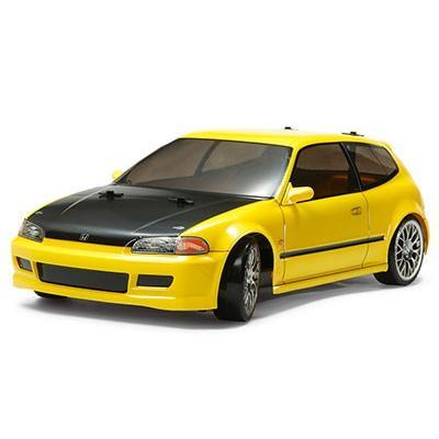 1/10 電動RCカーシリーズ RCC Honda シビックSiR(EG6)(TT-02Dシャーシ)ドリフトスペック[タミヤ]《取り寄せ※暫定》
