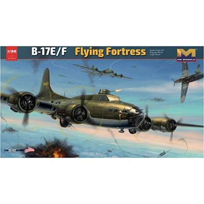 1/32 B-17E/F フライングフォートレス プラモデル[HK MODEL]【送料無料】《在庫切れ》