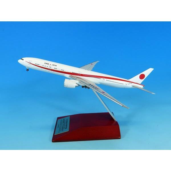 1/400 777-300ER N509BJ 次期政府専用機 Detailed 木製台座付 ダイキャストモデル[全日空商事]《在庫切れ》