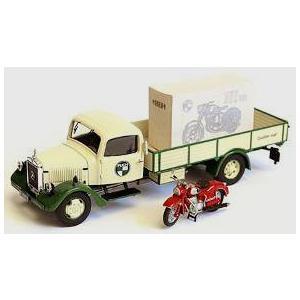 1/43 メルセデスベンツ L3000 ピックアップトラック Puch SG Puchバイク積載(再販)[Premium ClassiXXs]《在庫切れ》