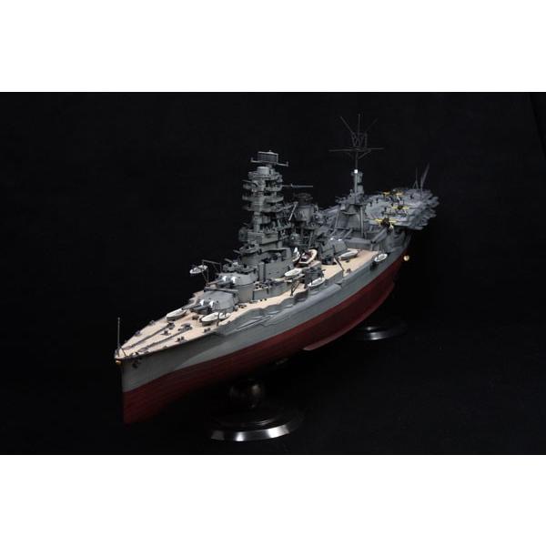 1/350 艦船モデルSPOT 旧日本海軍航空戦艦 伊勢(第六三四航空隊/瑞雲18機付き) プラモデル(再販)[フジミ模型]《取り寄せ※暫定》