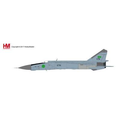 "1/72 MiG-25PD フォックスバット""リビア空軍""[ホビーマスター]《在庫切れ》"