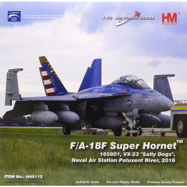 """1/72 F/A-18F スーパーホーネット""""VX-23 ソルティドッグ""""[ホビーマスター]《在庫切れ》"""