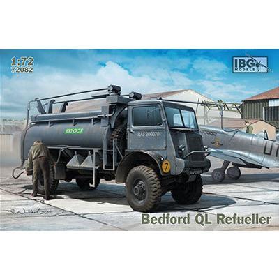 1/72 英・ベッドフォードQL3トン4輪駆動タンクローリー プラモデル[IBG ...