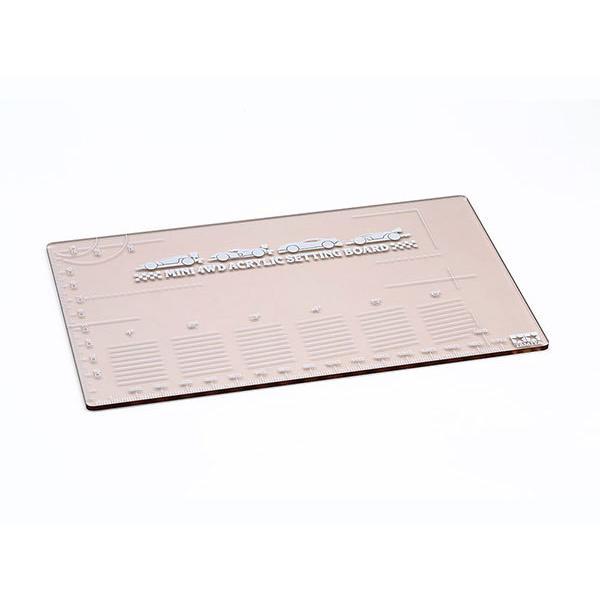ミニ四駆特別企画 ミニ四駆アクリルセッティングボード (スモーク)[タミヤ]《発売済・在庫品》|amiami