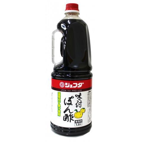 国内即発送 NEW ジェフダ 味付ポン酢 1.8L