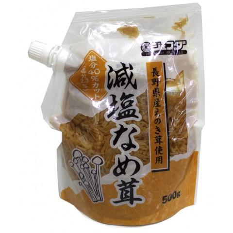 ジェフダ 減塩なめ茸 500g|amicashop