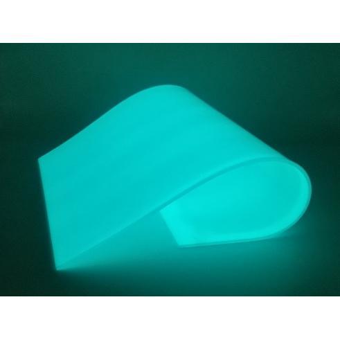 蓄光シート 厚み2.0mm A4サイズ 青緑色発光|amiel|02