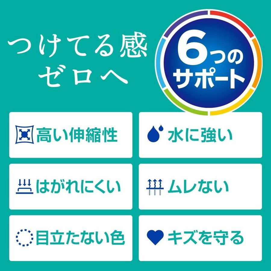 BAND-AIDバンドエイド 救急絆創膏 快適プラス スタンダード 100枚      4901730150538|amiskanazawa|04