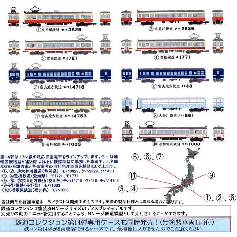 トミーテック 鉄道コレクション 第14弾 10個入未開封BOX Nゲージ
