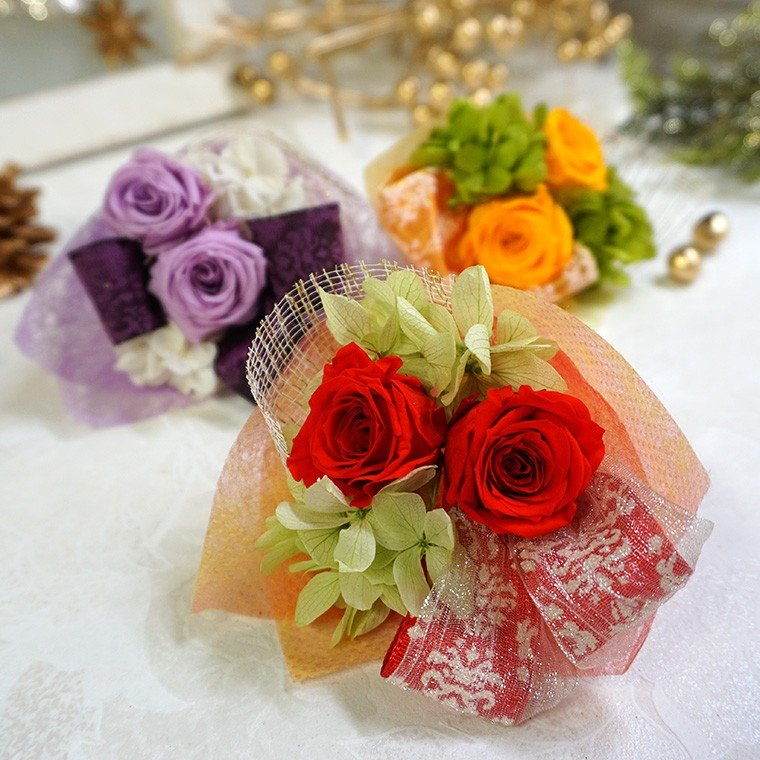 還暦祝い 古希 喜寿  プレゼント 2020 花 古希のお祝い 喜寿のお祝い 傘寿のお祝い 米寿のお祝い  プリザーブドフラワー 祖母  ふくろうのお祝い(花束付)|ampoule-shop|04