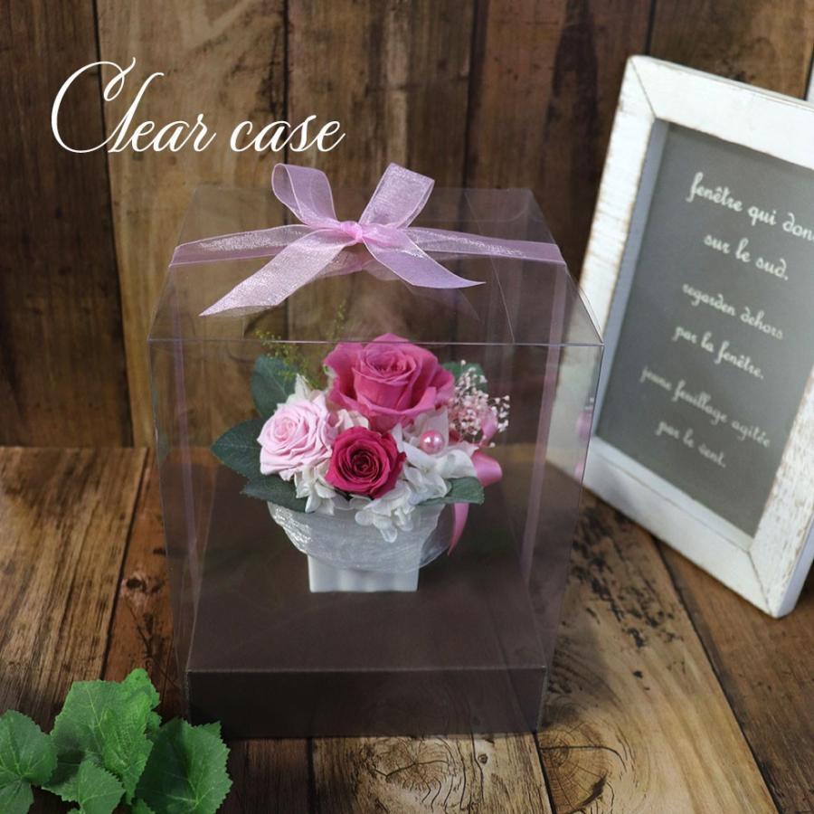 プリザーブドフラワー プレゼント   母の日  2021  花 誕生日プレゼント  女性  退職祝い 結婚祝い 結婚式 電報  初めてのプリザ|ampoule-shop|05