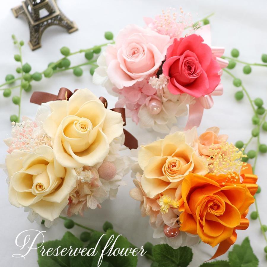プリザーブドフラワー プレゼント   母の日  2021  花 誕生日プレゼント  女性  退職祝い 結婚祝い 結婚式 電報  初めてのプリザ|ampoule-shop|06