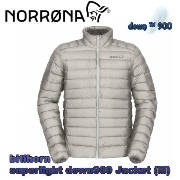 NORRONA ノローナ bitihorn superlight down900 Jacket (M) メンズ スーパーライト ダウン900 ジャケットDrizzle ダウンジャケット スキー スノボ
