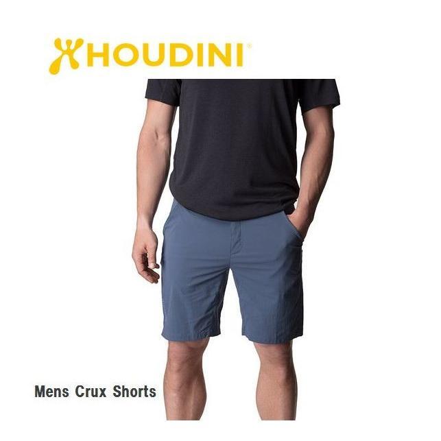 HOUDINI Mens Crux Shorts 047 SORROW BLUE メンズ ライト ショーツ アウトドア 短パン