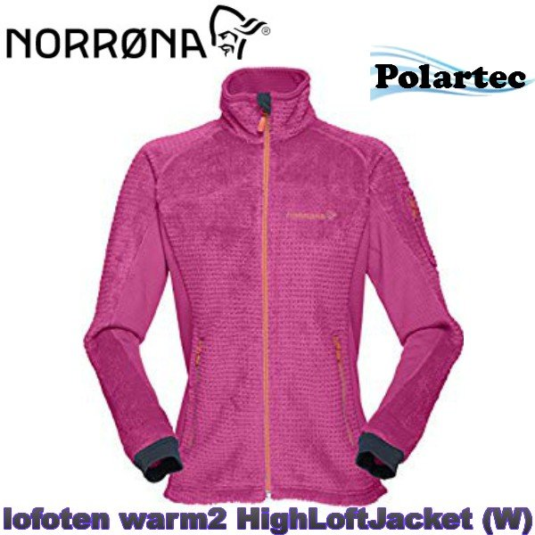 Norrøna Lofoten Warm2 High Loft Jacket (W) Sort