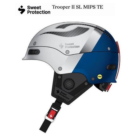 Sweet Protection Trooper II SL MIPS TE クリストファーセン Helmet トゥルーパー II スラローム MIPS チームエディション スキー ヘルメット