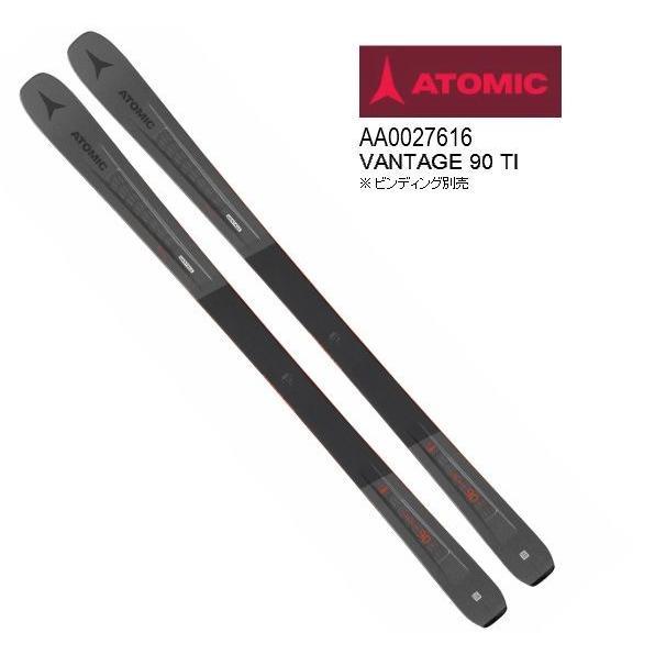 2019 2020 ATOMIC VANTAGE 90 TI アトミック 板のみ ファット パウダー