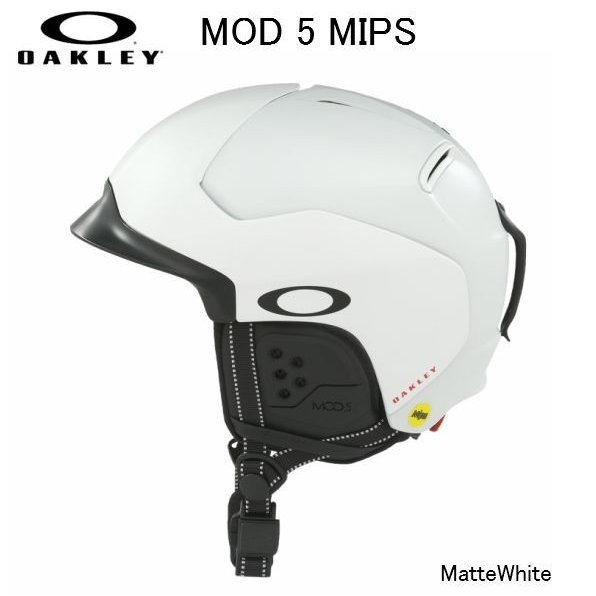 2019 2020 OAKLEY MOD5 MATTE 白い MIPS オークリー スノー ヘルメット スキー スノーボード