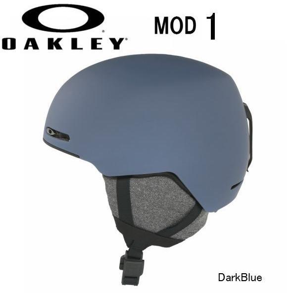 2019 2020 OAKLEY MOD1 DarkBlue AsianFit オークリー スノー ヘルメット スキー スノーボード