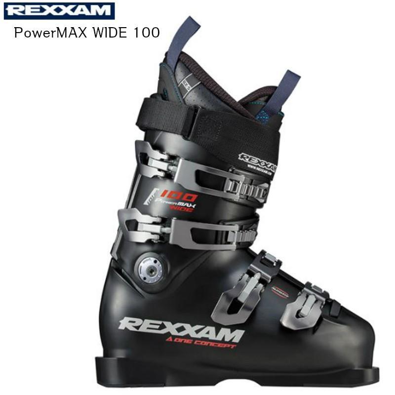 2019 2020 REXXAM PowerMAX WIDE 100 BX-S インナー レグザム スキーブーツ