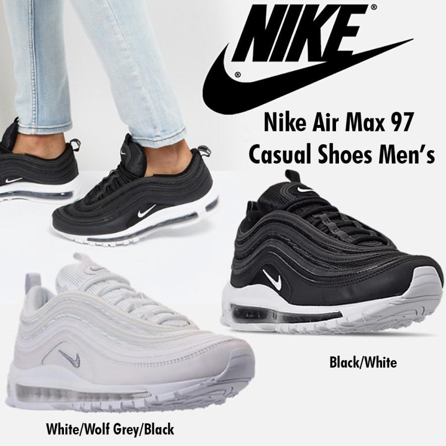 851dfe0f4b Nike Air Max 97 921826-101 921826-001 ナイキ エア マックス97 メンズ スニーカー ホワイト ブラック 白 黒  ...