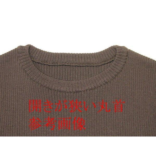Uネック&Vネック リブニット メリノウール100% 日本製 送料無料 セーター レディース トップス|amu|09