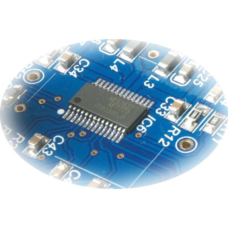 Amulech AL-602H 小型・高音質・Hi-Fi 60W+60W(4Ω)ステレオデジタル・パワーアンプ+ヘッドホンアンプ 電子ボリューム採用|amulech-store|07