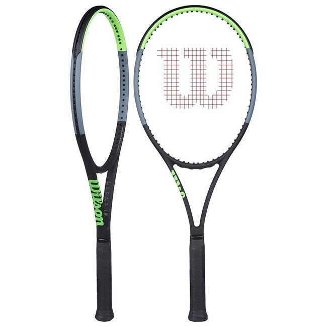 最も優遇の ウィルソン(Wilson) ブレード98 V7.0 (18×20) (305g) 海外正規品 硬式テニスラケット WR013711-ブラック×グリーン×グレー(20y1m)[NC], オーストリッチサンエー 6978645f