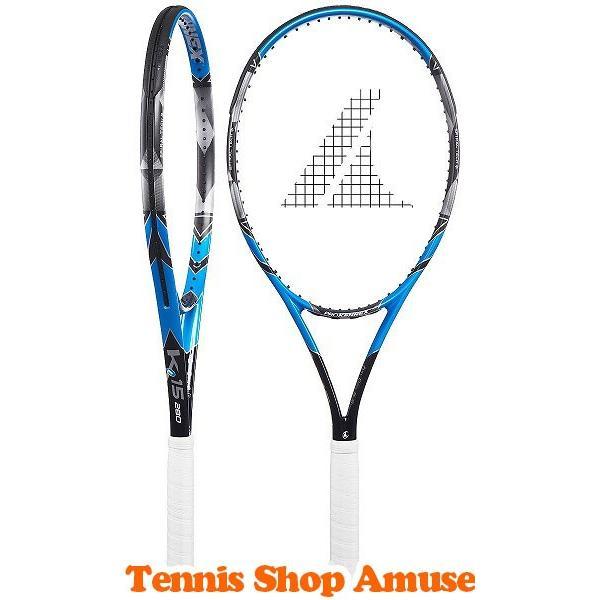 【テニス肘の方にもお勧め!】プロケネックス(PRO KENNEX) 2018 Ki15(280g) ブラック×ブルー CO-12333 硬式テニスラケット[AC]