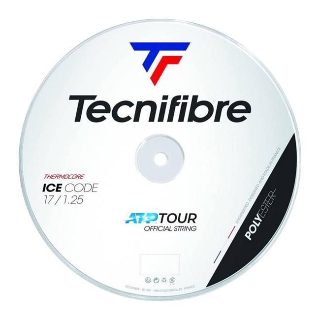 テクニファイバー(Tecnifibre) ICE CODE アイスコード (1.20/1.25/1.30) 200Mロール 硬式テニス ポリエステルガット (19y5m)