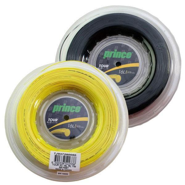 プリンス ツアー XC (1.22mm/1.27mm/1.35mm)200Mロール 硬式テニス ポリエステルガット(Prince Tour XC String REEL)