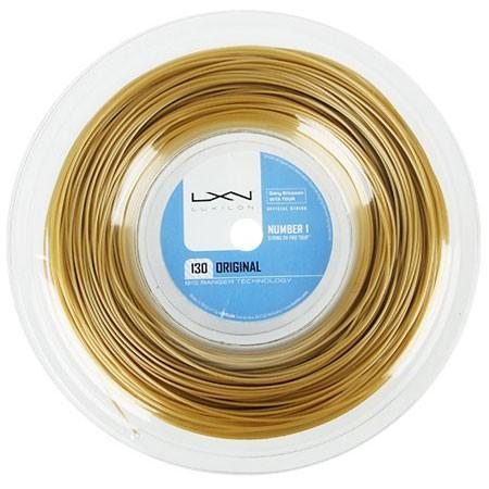 ルキシロン オリジナル(1.30mm) 200Mロール WRZ990900硬式テニス ポリエステル ガット(Luxilon ORIGINAL 200m String Reel)(16y12m)