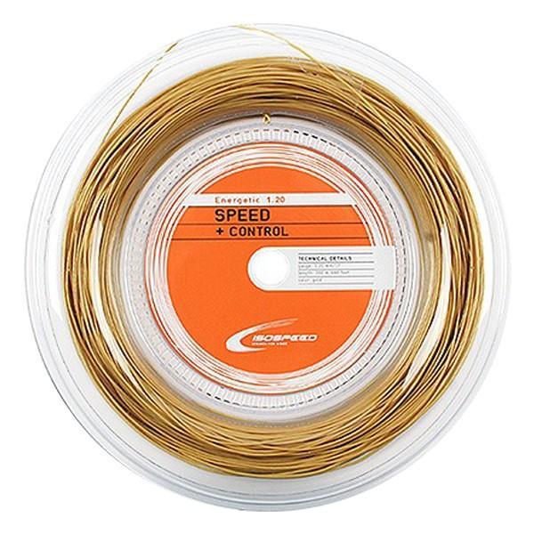 イソスピード(Isospeed) エネジェティック1.20mm 200Mロール 硬式テニスマルチフィラメントガット Energetic120