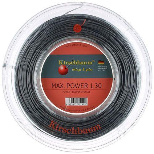 【予約】 キルシュバウム マックスパワー 200M (1.20/1.25/1.30mm) 200Mロール 硬式テニスガット ポリエステル 200Mロール ガット(Kirschbaum Max Power Power String 200M Reel)(15y1m), 自然の美味しさお届け便:090f3296 --- airmodconsu.dominiotemporario.com