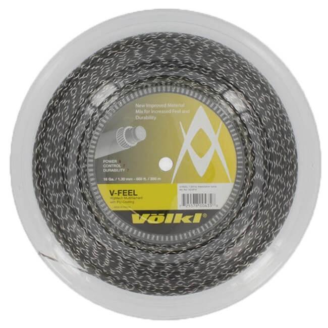 専門店では フォルクル(Volkl) Vフィール V-Feel 17(1.25mm)/16(1.30mm) Vフィール 200Mロール V-Feel ブラックxシルバー 硬式テニス (18y11m) マルチフィラメントガット (18y11m), 寒河江市:8d8ad005 --- odvoz-vyklizeni.cz
