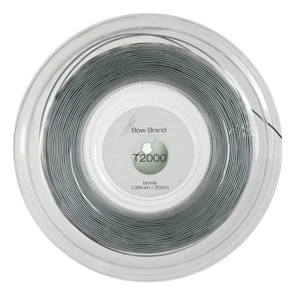 激安大特価! ボウブランド(BowBrand)T2000(1.38mm カラー:グレー)200Mロール 硬式テニス マルチフィラメントガット, 睦沢町 e44639ca