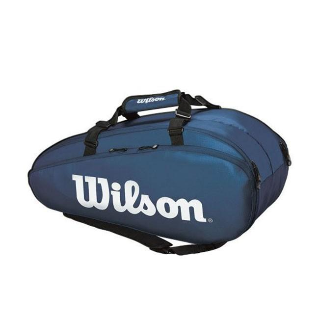 [9本収納]ウィルソン(Wilson) 2019 TOUR ツアー 2 COMP LARGE ラケットバッグ WR8004002001-NYWHネイビー×ホワイト(19y8m)