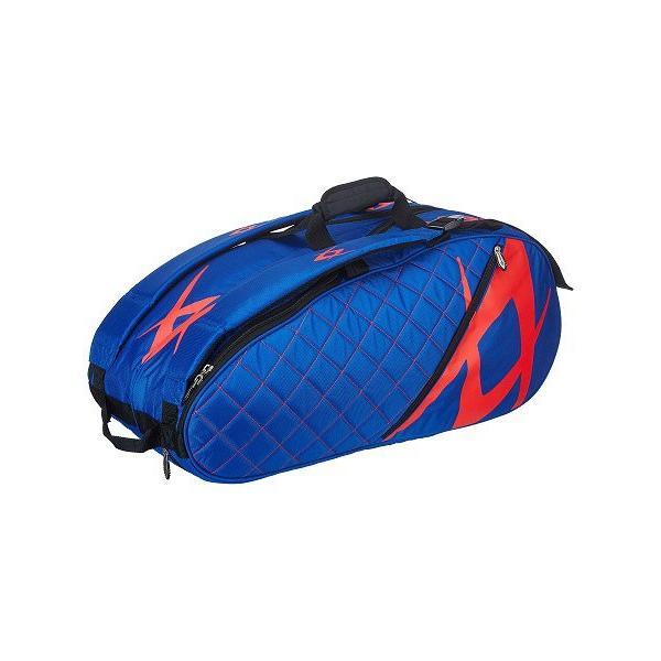 【6本収納】フォルクル(Volkl) 2017 ツアー コンビラケットバッグ(Tour Combi Racket Bag) ブルー×ラヴァ V77206【2017年10月登録】