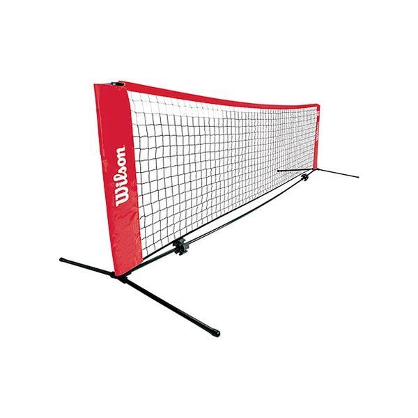 人気を誇る 【どこでも子供とテニスができます♪】 スターターテニスネット5.5M (Wilson Starter Tennis Net 18feet) WRZ2590, ショッピング@ドゥビアン d179a877