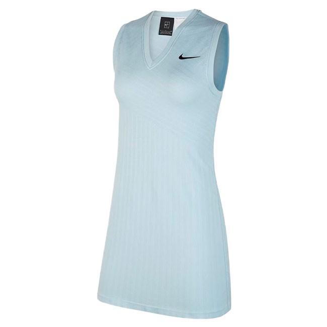 [マリア・シャラポワ][USサイズ]ナイキ(NIKE) 2019 FA レディース コート マリア ドレス AT5104-449トパーズミスト(19y7mテニス)