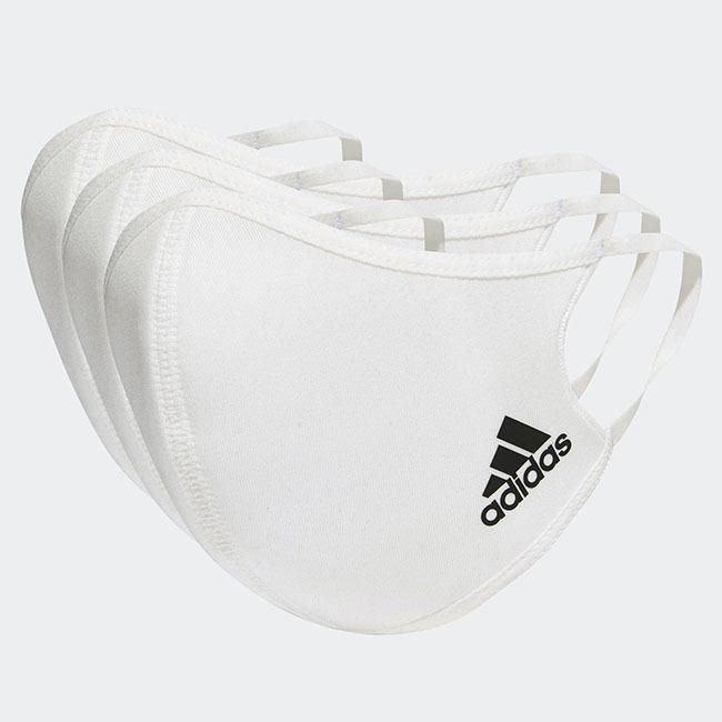 アディダス(adidas) ユニセックス フェイスカバー 3枚組 ウォッシャブルタイプ 洗えるマスク KOH81(20y12m)|amuse37|03
