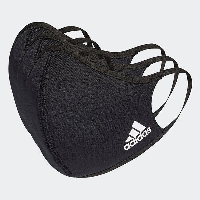アディダス(adidas) ユニセックス フェイスカバー 3枚組 ウォッシャブルタイプ 洗えるマスク KOH81(20y12m)|amuse37|06