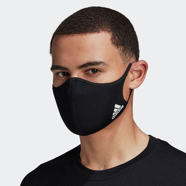 アディダス(adidas) ユニセックス フェイスカバー 3枚組 ウォッシャブルタイプ 洗えるマスク KOH81(20y12m)|amuse37|07