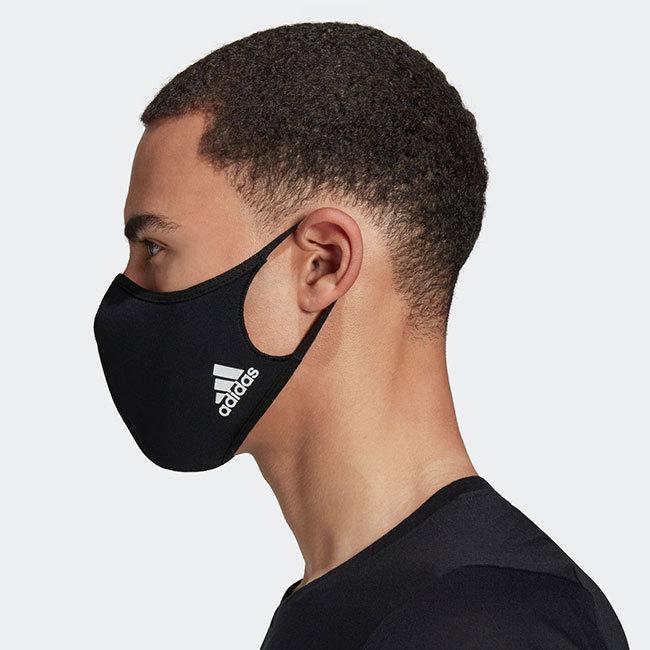 アディダス(adidas) ユニセックス フェイスカバー 3枚組 ウォッシャブルタイプ 洗えるマスク KOH81(20y12m)|amuse37|08