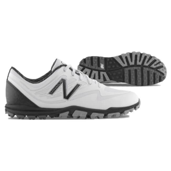 ニューバランス(new balance) レディース スパイクレス ゴルフシューズ Minimus WP ホワイト×ブラック USモデル NBGW1005WK(18y10m)
