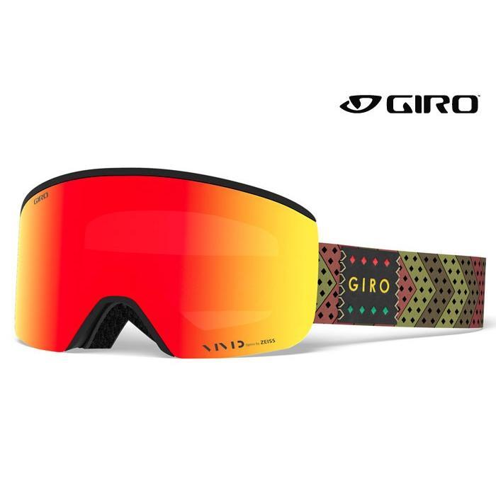 お得セット ジロ/GIRO スノーゴーグル Axis/Olive Mo'Rasta 18-19, キタサクグン 7fc59d4a