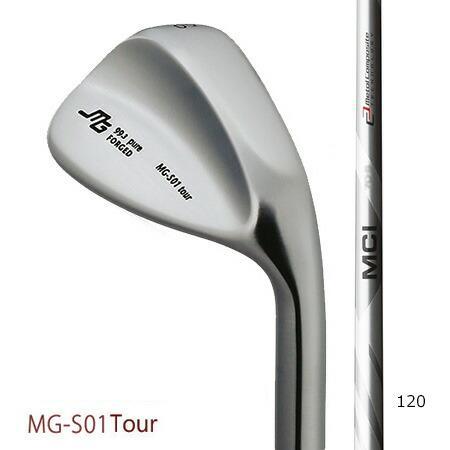 三浦技研 MG-S01 Tour 純鉄ウエッジ 50°52°56°58°/フジクラ MCI 120