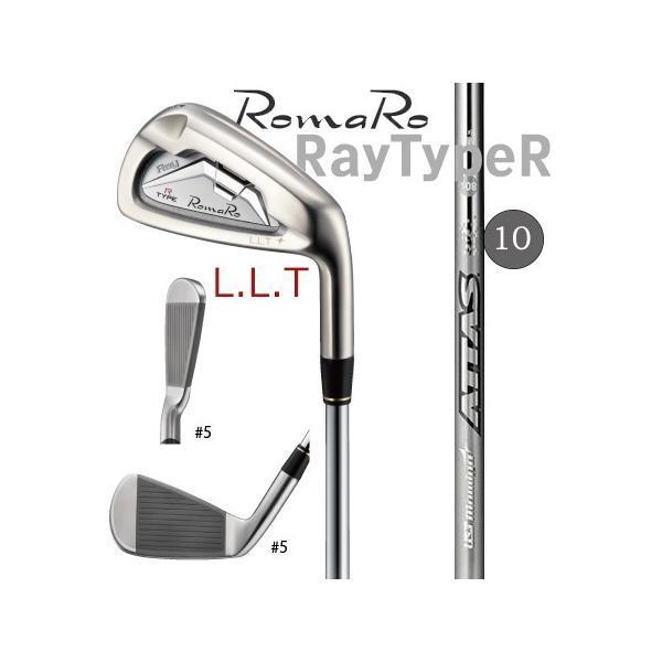 Romaroロマロ RayType-R LLTアイアン/ATTASアッタスIRON 10 #5〜PW 6本セット