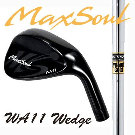 MaxSoulマックスソウル・WA11WEDGEウエッジ52°58°/ダイナミックゴールド